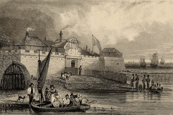 Print of Tilbury Fort, 1831 (I/LS/COL/00118)