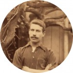 Footballing moustache #5, from the team which had just won the Grays Charity Cup (I-Sp 15-364b)