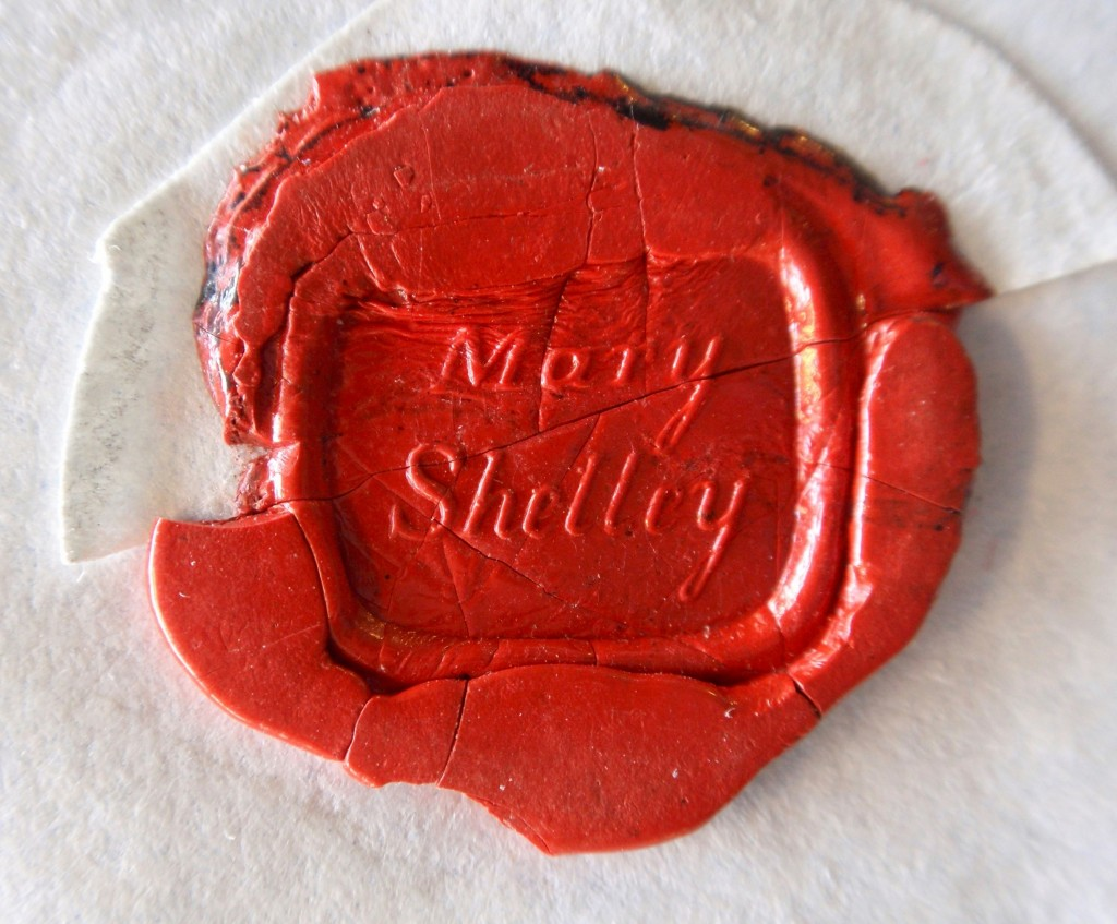 Mary Shelley seal