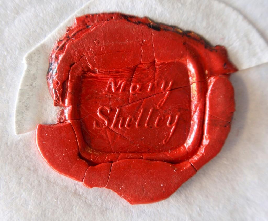 Mary Shelley seal
