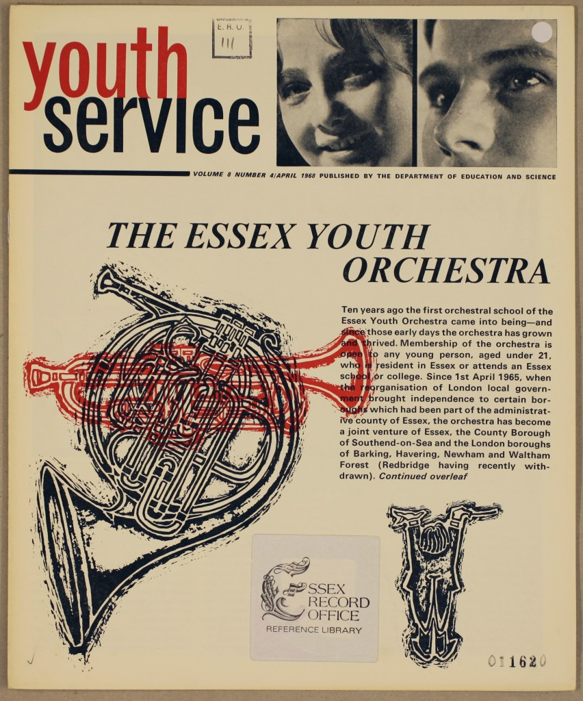Youth Service Volume 8 Number 4 April 1968