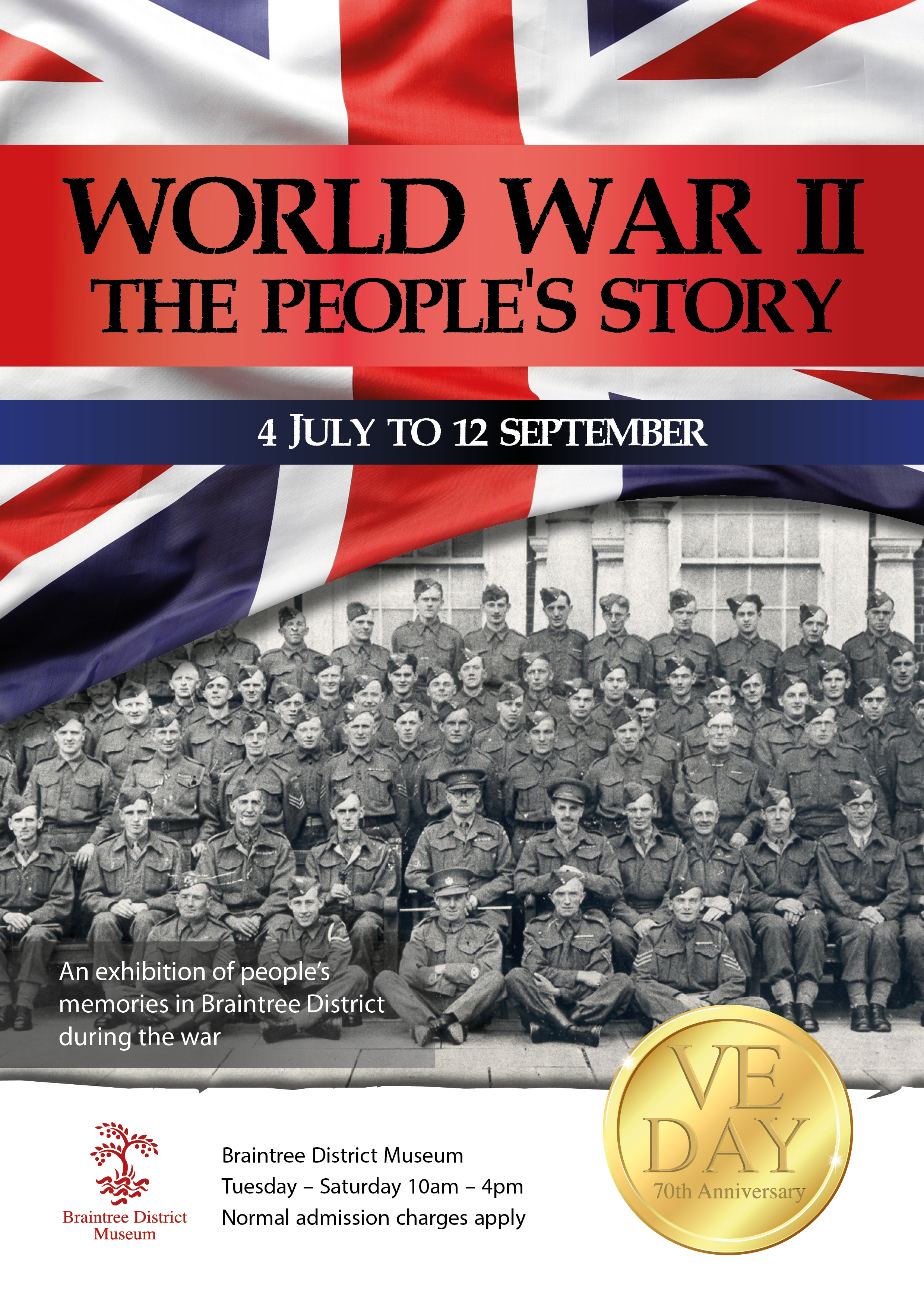 WW2- The Peoples Story Poster
