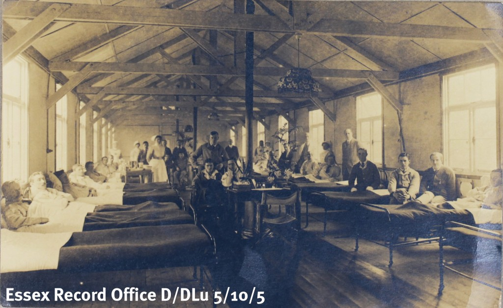 Photograph of one of the hospitals Kate worked in on the Western Front (D/DLu 55/10/5)