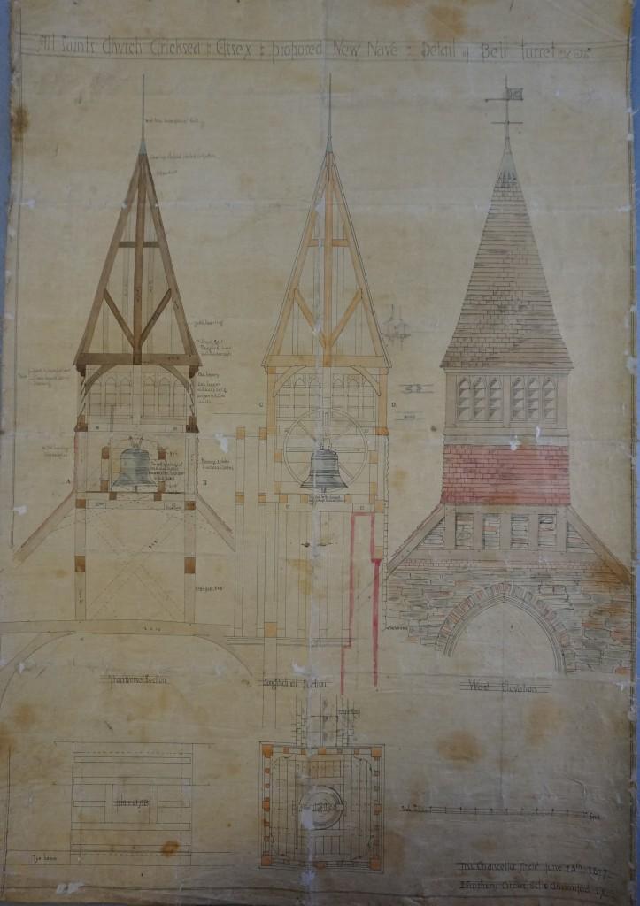 1877 bellcote - detail