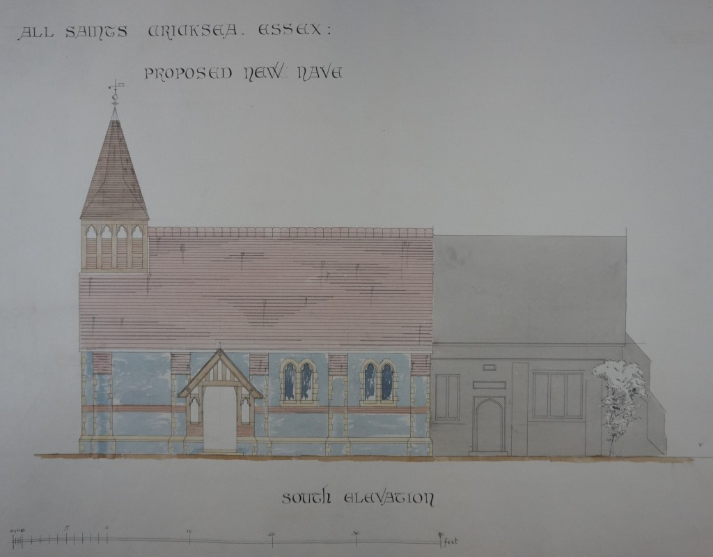 Undated nave rebuild from S
