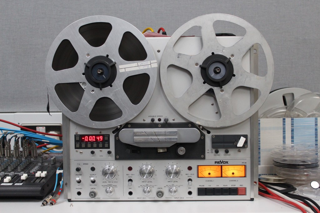 Open reel tape