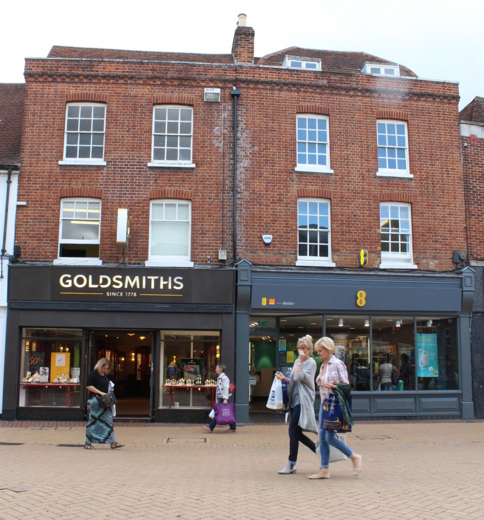 Goldsmith's jewellers, Chelmsford High Street