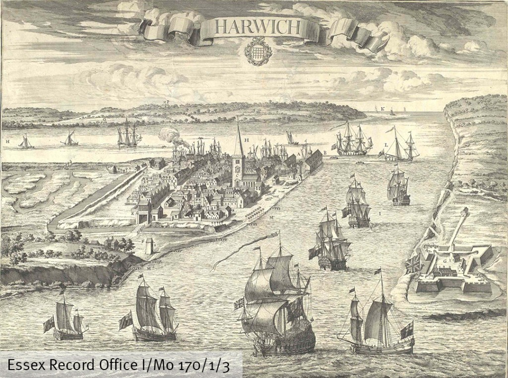 A much later view of the port of Harwich (I/Mb 170/1/3)