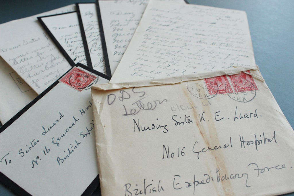 Kate Luard letters