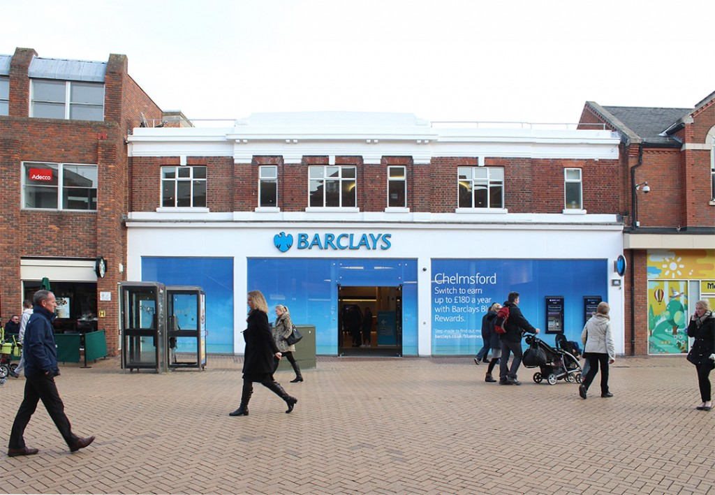 Barclay's Bank Chelmsford High Street