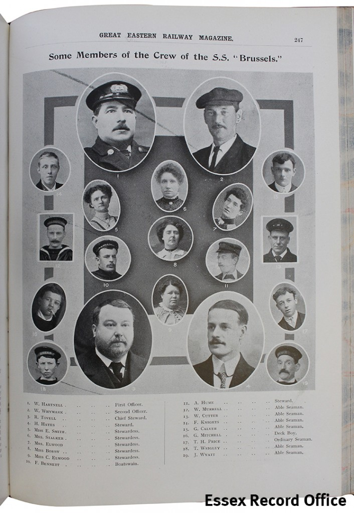 GER Magazine 1916 Brussels crew