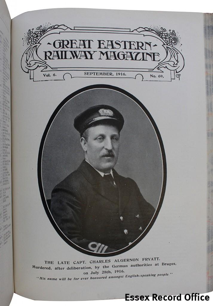 GER magazine Capt Fryatt