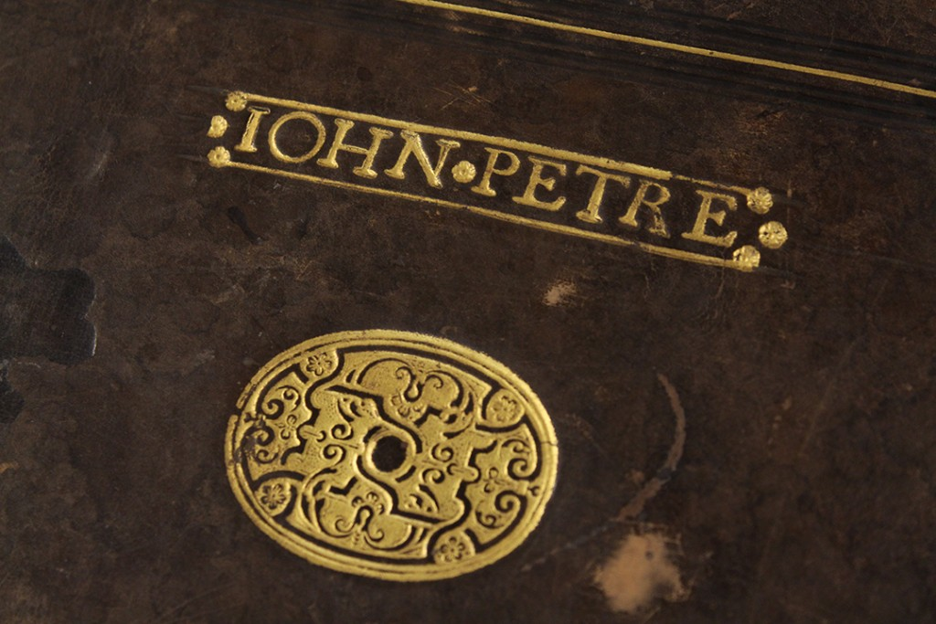 John Petre music book