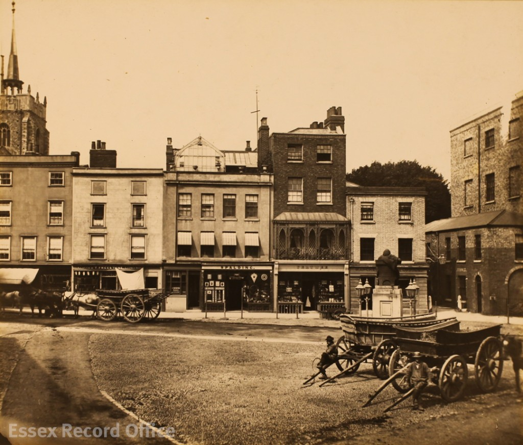 Tindal Square, Chelmsford, in 1876