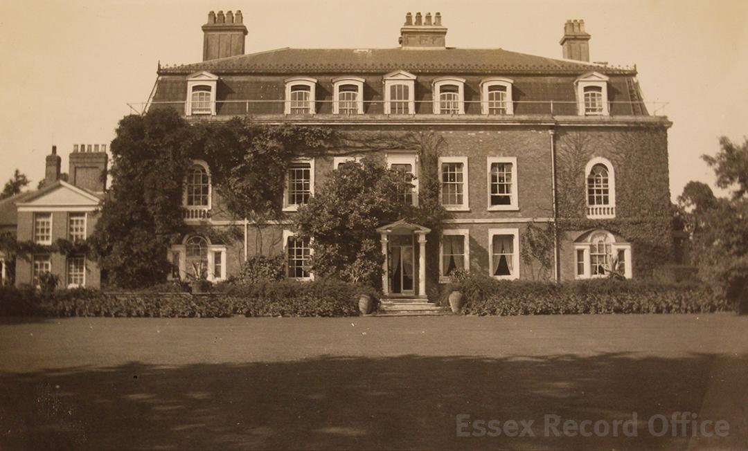 orsett hall essex history